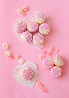 「バレンタインデコマカロン♪」あいりおー | お菓子・パンのレシピや作り方【corecle*コレクル】