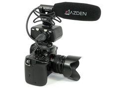 Azden SGM-250CX Cinema Mikrofon - ideal für spiegellose Kameras und kleinere Cinema-Filmkameras