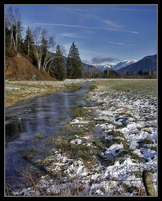 The Melting, a photo from British Columbia, Western Fraser Valley, British Columbia, North America, Westerns, Canada, Mountains, Nature, Travel, Naturaleza