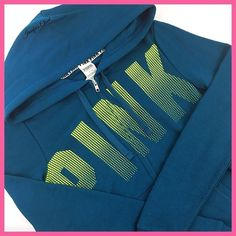 🎉HP••Victoria Secret PINK•• logo zip up hoodie Welcome! 💞 Please read below if you are interested in this item:  🛍 All items are brand new with tags, or brand new in packaging!   🚭🐶🐱Smoke & pet free household  📬I ship Monday-Friday same/next day, unless it's a national holiday  💯All items are 100% AUTHENTIC   Please do not use the offer button to lowball. It is offensive & not welcome in this closet!🙅🏻  NO TRADES OR PP.   Failure to comply with my closet rules results in…