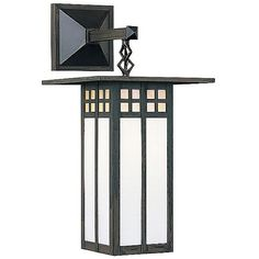 Arroyo Craftsman Glasgow Outdoor Wall Sconce ($242) ❤ liked on Polyvore featuring home, outdoors, outdoor lighting, red, outdoor yard lights, arroyo craftsman, outside patio lights and arroyo craftsman outdoor lighting