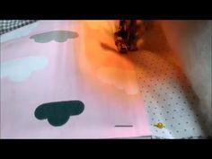 Лоскутное одеяло. Как стегать одеяло - YouTube