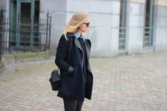 Winter outfit by Axelle Blanpain /// www.styleplayground.com
