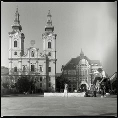 Miskolc | by modulartechnix Old Pictures, Historical Photos, Hungary, Notre Dame, Taj Mahal, Places To Visit, Explore, Building, Travel