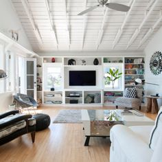 White Wood Ceiling Floors Design Ideas Pictures Remodel And Decor Floor