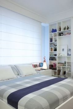 I need a shelf like this. Dream Bedroom, Home Decor Bedroom, Master Bedroom, Couple Room, Suites, Villa, House Design, Interior Design, Bedrooms