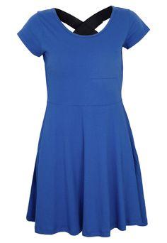 Vestido FiveBlu Lily Azul - Compre Agora | Dafiti Brasil