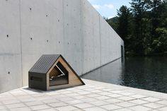 Casas minimalistas (y envidiables) para perros, por Bad Marlon,Deauville. Imagen © BAD MARLON vía Fast Company
