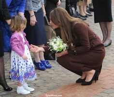 """""""Catherine Duchess Of Cambridge Visits The National Fishing Heritage Center In Grimsby""""...SO PRECIOUS."""