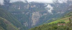 Gocta waterfall Peru