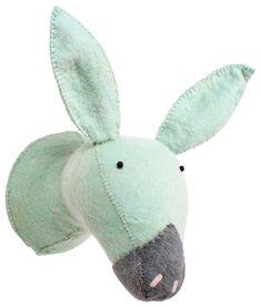 Kidsdepot Kinderzimmer Tiertrophäe 'Esel' mint 30cm bei Fantasyroom