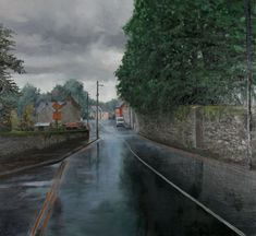Rainy Day in Kilkenny by Eugene Conway