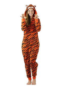 Pigiama intero donna Tigre