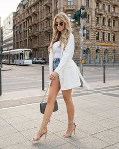 Simple Winter Outfits, Spring Outfits, Girl Outfits, Casual Outfits, Fashion Outfits, Womens Fashion, Fashion Ideas, White Outfits For Women, All White Outfit