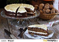 Mrkvové řezy s ořechy recept - TopRecepty.cz Tiramisu, Ethnic Recipes, Food, Essen, Meals, Tiramisu Cake, Yemek, Eten
