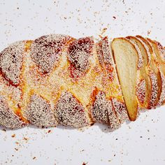 Challah  -  traditional bread eaten at holidays.  other recipes include variations of added fruit, etc.    lj