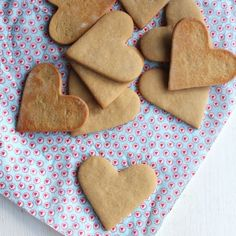 These gorgeous maple syrup cookies are perfect for intricate shapes as they hardly spread at all! So easy to make too.
