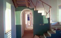 Strawclay house in Agria - Φυσική δόμηση Βιοκλιματική αρχιτεκτονική  Cob.gr