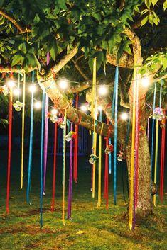 Фото из статьи: Вечеринка на даче: 15 идей оформления