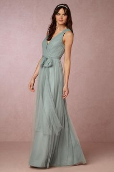 Horizon Blue Pippa Dress | BHLDN