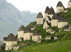 Dargavs, Russia | North Ossetia City of the Dead | This ancient village and its adjoining cemetery have a beautiful history of death and remembrance