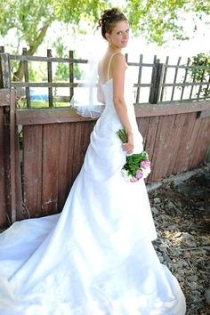 Real Bride: Samantha absolutely loved her wedding dress from Best for Bride