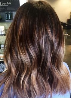 Check our prettiest brunette hair colors for winter, fall and autumn seasons 2017 2018.