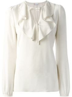 Red Valentino Blusa De Seda - Yusty - Farfetch.com                                                                                                                                                                                 Mais