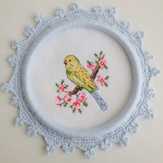 Cross stitch birds @ayseegullce