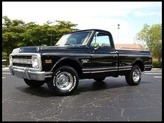 1969 Chevrolet C10 Pickup 350/300 HP, Automatic