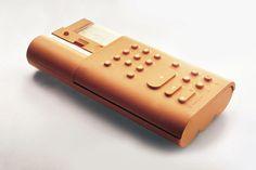 design-is-fine:  Mario Bellini, rubberized calculator Divisumma...