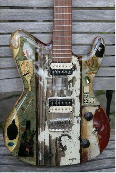 Michael Spalt Instruments Black Buddha 2012 Totem Guitar For Sale Gitarren-Studio-Neustadt