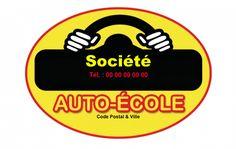 Carte De Visite Mtier Auto Cole Modle Personnaliser En Ligne Avec Logo Et