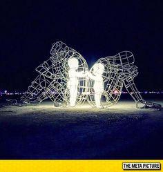 Artwork From Burning Man. Pretty Powerful.