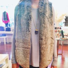 • Faux Real • If you don't already own this amazing TART Kya Vest.... you NEED to!! KK Bloom Boutique