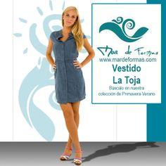 El Vestido La Toja Búscalo en nuestra colección de Primavera-Verano http://www.mardeformas.com/ca/35-vestido-la-toja.html