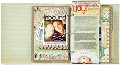Tutorial for making a travel mini album... or any album for that matter.  How to make those cool edges, the fun layered looks and the creative finishes that always seem to elude me.