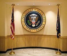 Presidential Seal by Sharon Mollerus, via Flickr