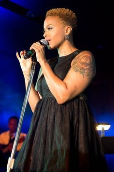 Chrisette Michelle twa