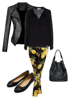 """Untitled #103"" by nespressita on Polyvore featuring Dolce&Gabbana, Milly, M&Co and christopher. kon"