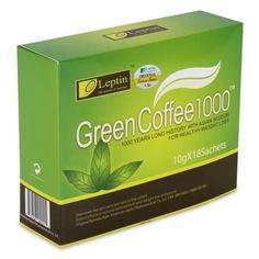 Leptin Green Coffee 1000 (Twin Pack)