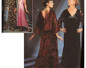 Simplicity Sewing Pattern 8739 Misses' Costumes - Retro Evening Gown, Flapper Dress