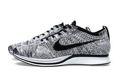 I have these!!!!! NIKE FLYKNIT RACER (WHITE/BLACK)