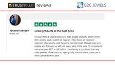 B2C Jewels Review on Trust Pilot by Jonathon Benson