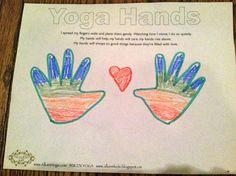 Alluem Kids: 8 Limbs of Yoga for Kids - Week 2: Niyamas Yoga Hands
