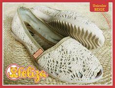 Alpargata Unicolor Beige, tallas 34 a 40. Contacto 301 6347566 - www.tiendafeliza.com