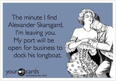 Alexander Skarsgard ♥