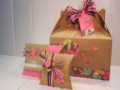 "Packaging ""Decorate your boxes"" diy workshop by Idea Papel Tijera. http://www.facebook.com/IdeaPapelTijera"