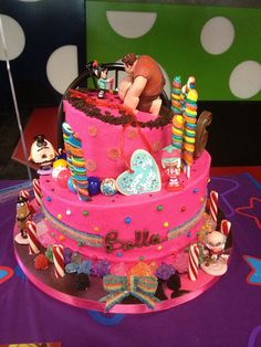 Wreck It Ralph Sugar Rush Birthday Cake by SweetNothingsPhotos, via Flickr