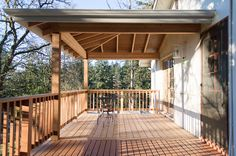 Albany Oregon Decking Company, wood patio cover, deck with a view, cedar deck